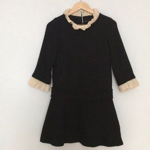 Marc by Marc Jacobs black long sleeve dress size 4